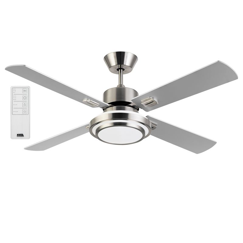 Zenta 130cm 70w 4 Blade Scirocco Ceiling Fan With Remote I N 4440951 Bunnings Warehouse Ceiling Fan With Remote Ceiling Fan Ceiling