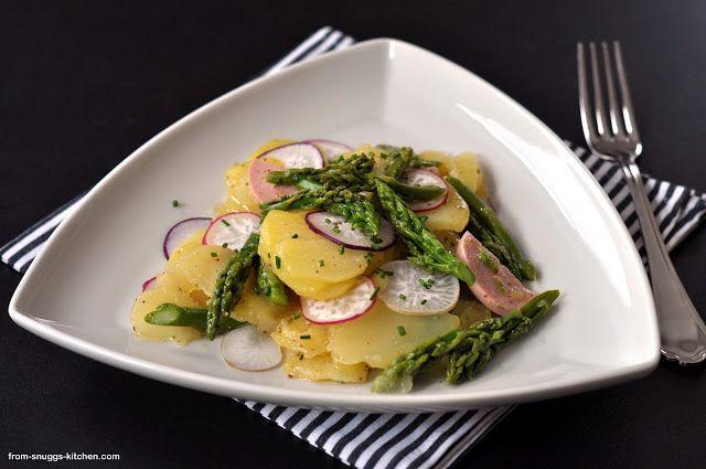 Kong im Einsatz mit Lafers Kartoffel-Spargel-Salat