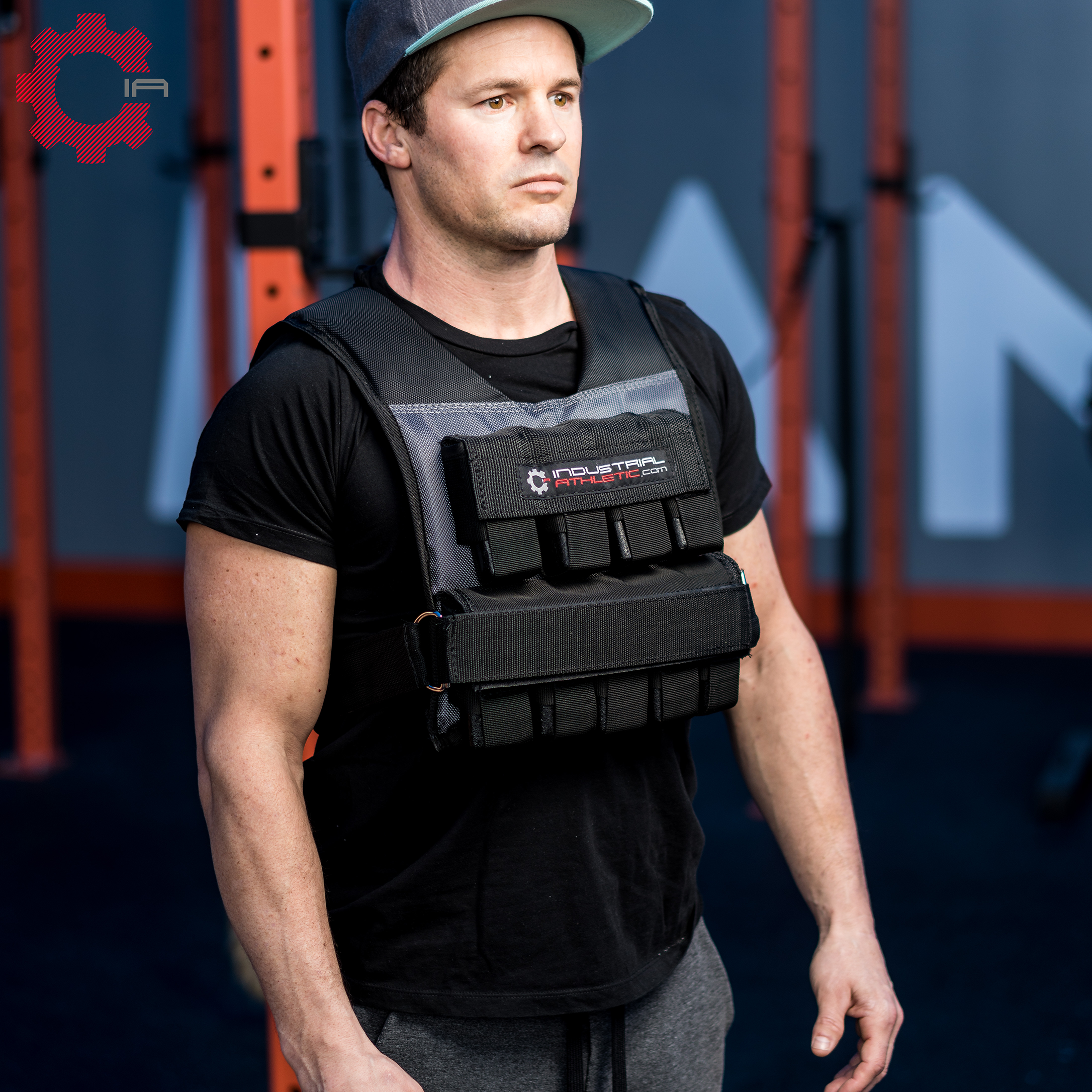 Adding A Weight Vest Into The Mix Of Your Training Ritual Gives You Another Dimension Of Intensity It Allows You Weighted Vest Total Body Workout Air Squats