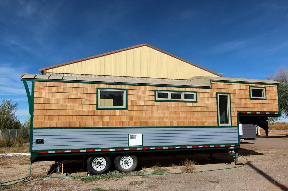 MitchCraft 5th Wheel Tiny Home Tiny house trailer Tiny