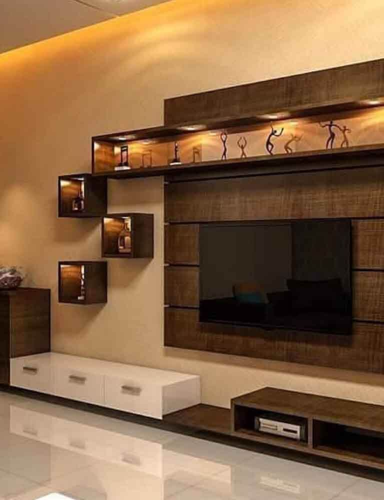 Wall Tv Unit Design Tv Unit: One Stop Solutions In Budget