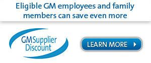 Gm Family First Supplier Discount On New Vehicles From Suss Buick
