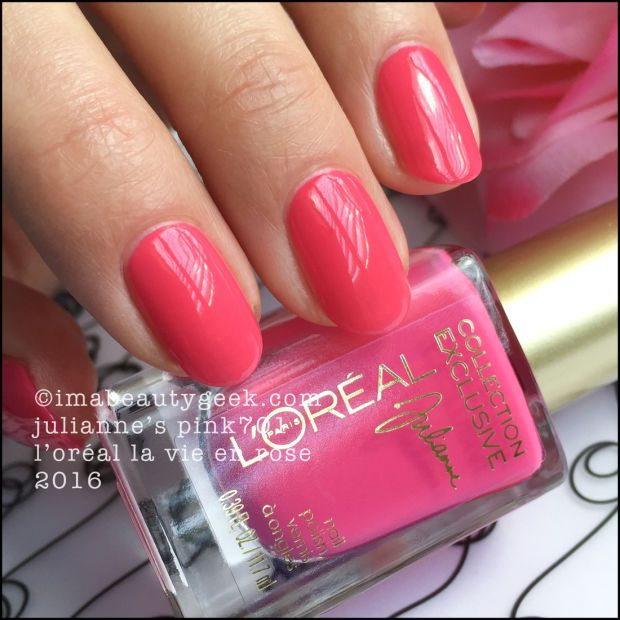 L\'OREAL PARIS LA VIE EN ROSE NAIL COLLECTION 2016 | Loreal paris ...