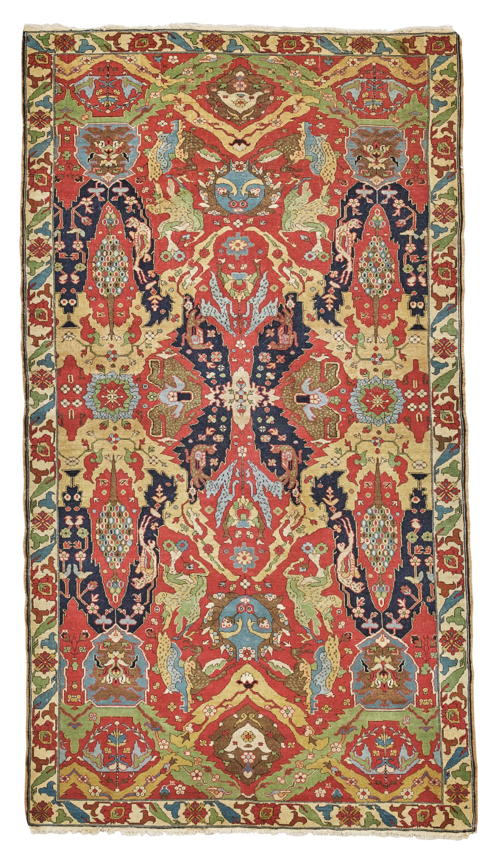 Dragon Style Carpet Probably Theodore Tuduc Romania C 1930 10ft 5in 5ft 11in Nel 2020 Tappeti