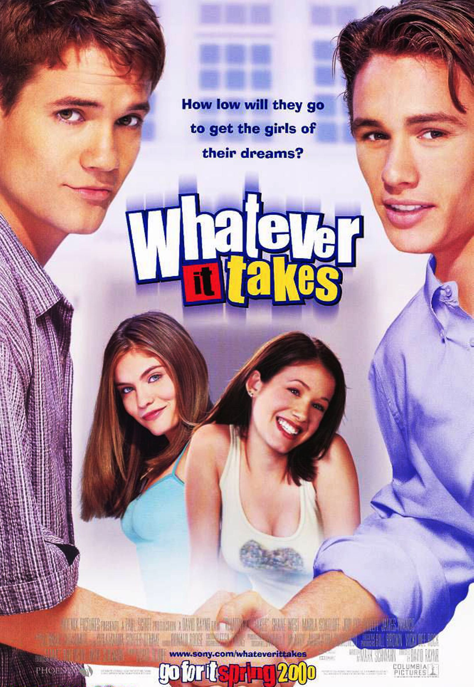 """""""Whatever It Takes"""" movie poster, 2000. Shane west, The"""