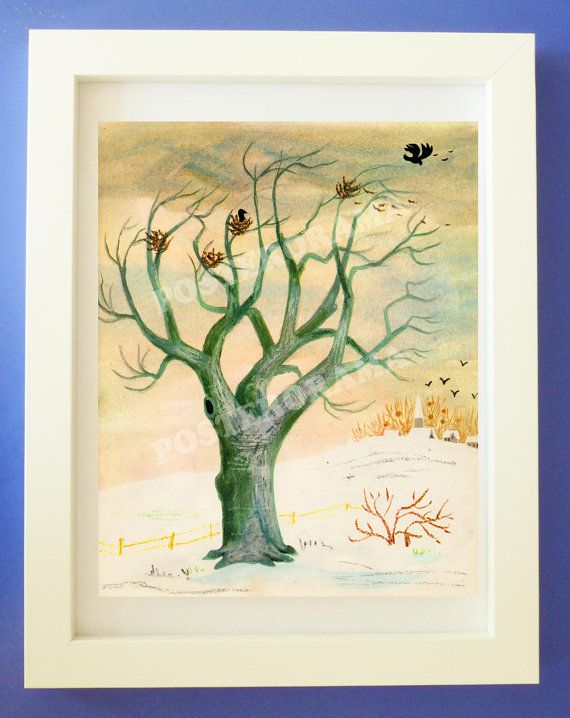 The fragile TREE where the Crow family lives POSTER by POSTERORAMA, $17.00 - Dining Room