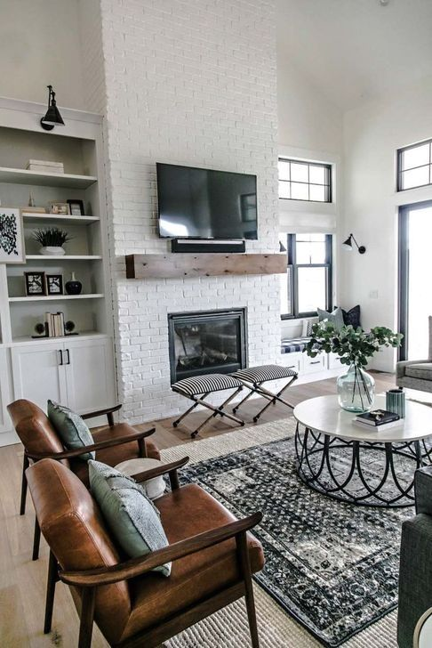 30+ Inspiring Industrial Themes Ideas For Your Living Room images