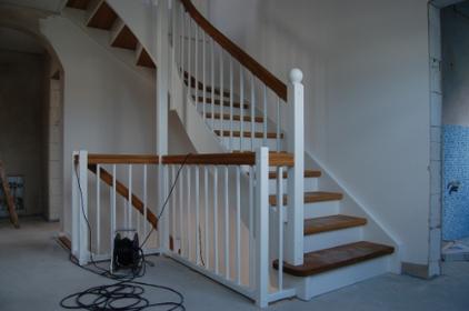 Treppe streichen