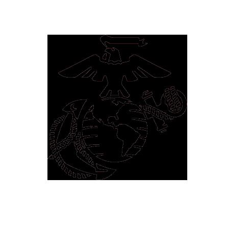 USMC Marine Corps Eagle Anchor Globe Stencil for Painting Cerakote Duracoat DIY