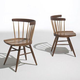 Elegant George Nakashima Straight Chair