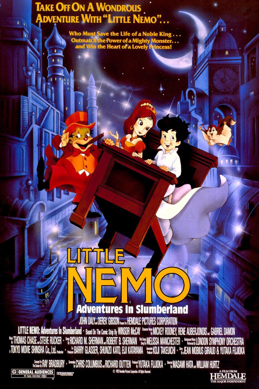 Little Nemo Adventures in Slumberland 1989 Animation