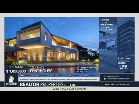 Real Estate Gallery After Effects Template Real Estate After Effects Templates Estates