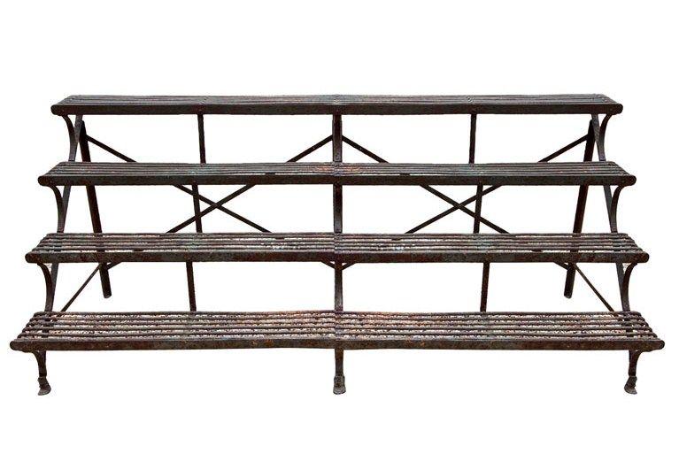A Rare Arras Wrought Iron Four Shelf Plant Stand Casas Com Jardim De Fadas Moveis De Jardim Ideias De Decoracao