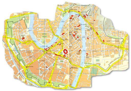 Cartina Verona.Mappa Di Verona Verona Viaggi E Mappe