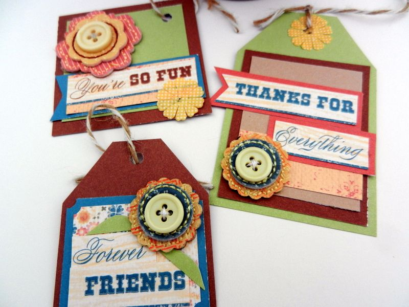 tags by Mary Gunn using CTMH Clementine paper