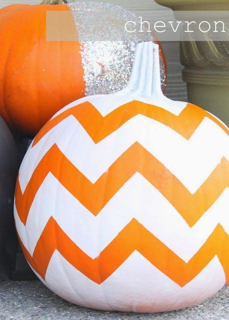 Easy No Carve Pumpkin Decorating Ideas Fall decor ideas