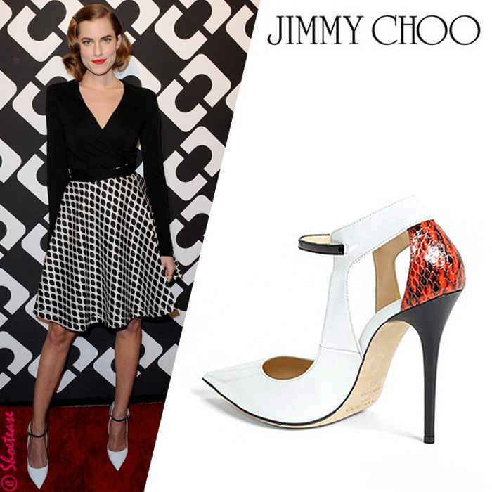463ec32a09c6 Celebrity Shoe Girl – Emma Roberts in Jimmy Choo