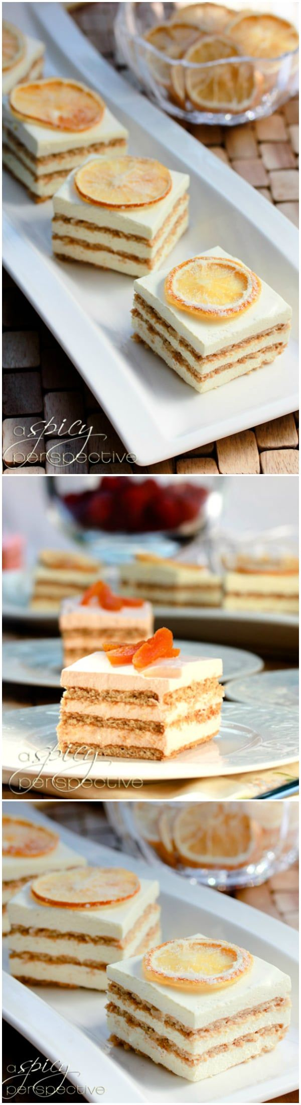 Layered Jello Mousse Cake Recipe Icebox Cakes Pinterest Cake