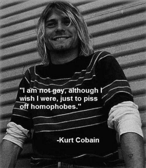 Image de kurt cobain, nirvana, and gay