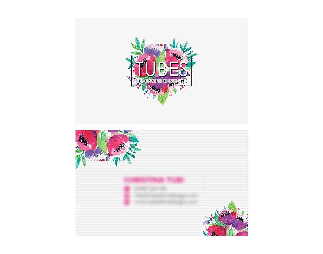 Tubes Floral Designs Business Card Design By PrintPedia.co.uk . Get ...