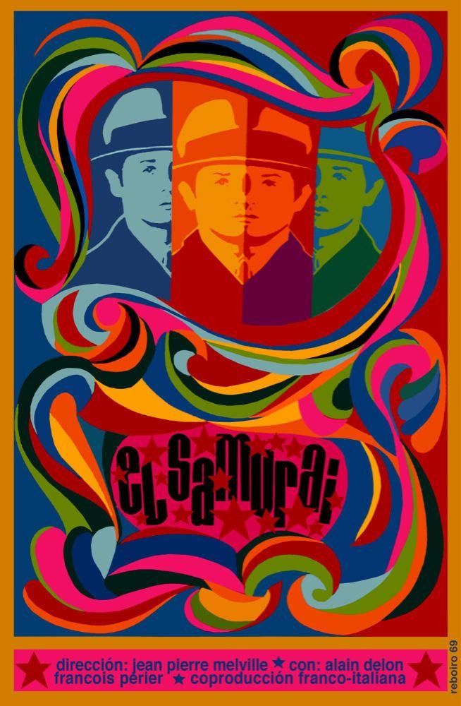 1969 Cuban poster for Le Samourai   Cuba film   Pinterest