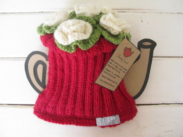 ❥Knit & Crochet Tea Cosies, Mug Hug Snugs and Cuppa Cosies. Wonky ...