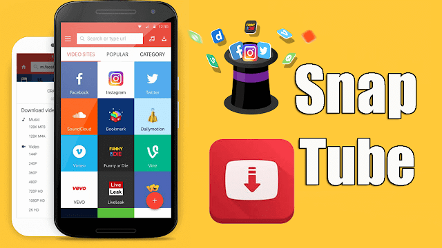 تحميل تطبيق Snaptube الافضل على الاطلاق فى تحميل مقاطع الفيديو من مختلف مواقع التواصل الاجتماعي Video Site Download App Download Video