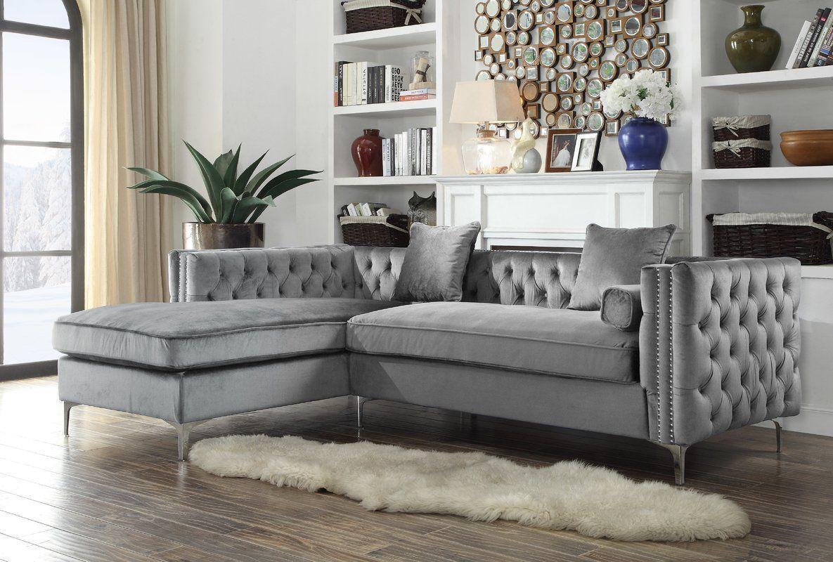 Rosdorf Park Marlon Sectional Reviews Wayfair Sectional Sofa