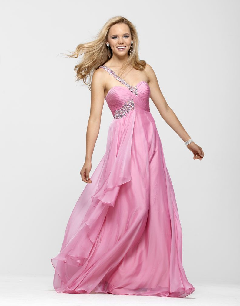 Clarisse One Shoulder Prom Dress 2120 | Pinterest
