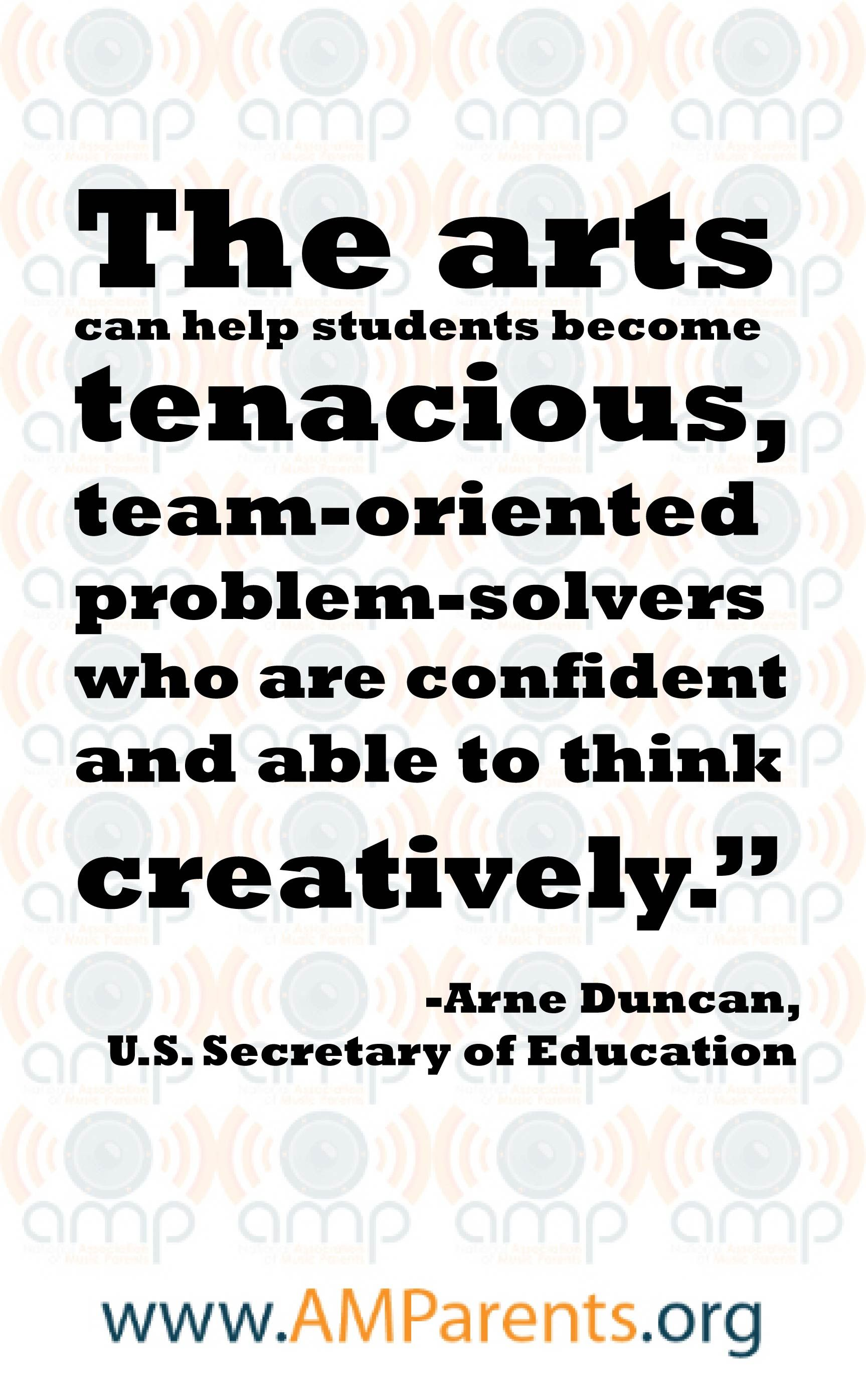 The Arts Can Help Students Become Tenacious Team Oriented Problem