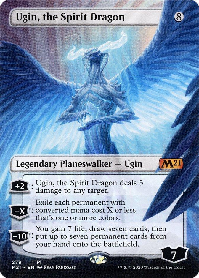 the Spirit Dragon Ugin Fate Reforged NM//LP Mtg