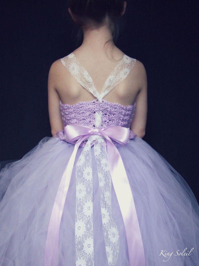 Lavender tulle flower girl dress flower girl dresses