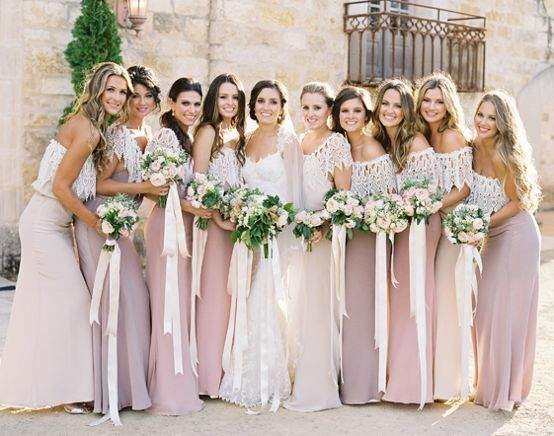 Vintage Rustic Bridesmaid Dresses