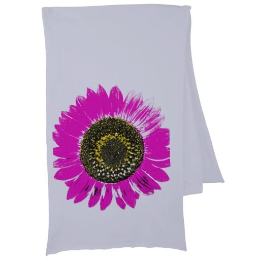 Pink Sunflower Scarf Wraps