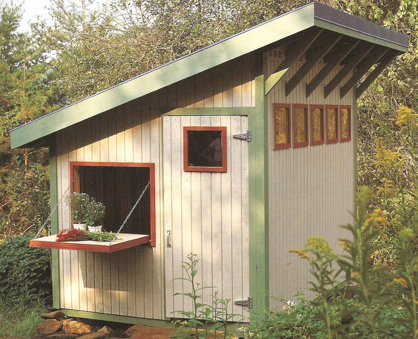 English Garden Sheds Plans For