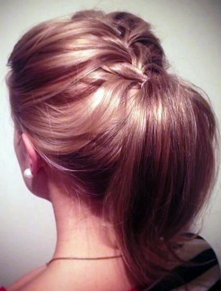 Braided Pony Hairstyle for Girls Midlength Hairstyles