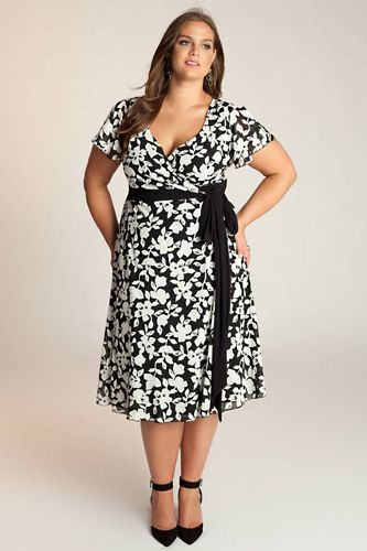 Vintage-Inspired Plus Size Casual Dresses