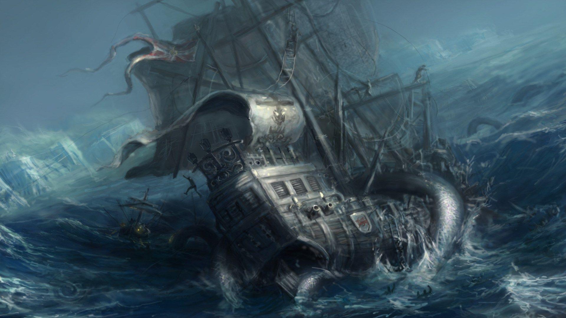 Kraken Wallpaper Pictures Free Kraken Category Sea Monsters Concept Art World Kraken