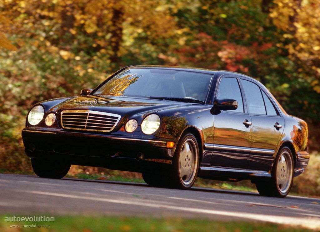 MERCEDES BENZ E 55 AMG (W210) this is a true import muscle car ...