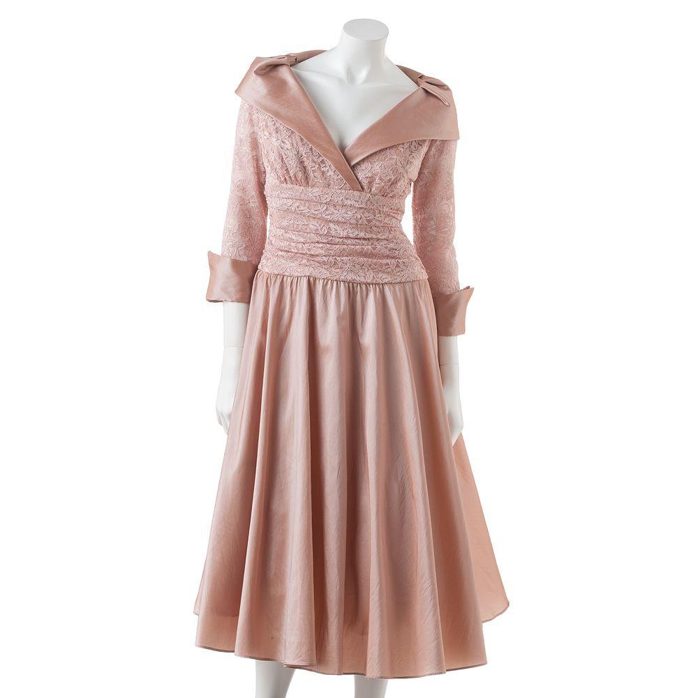 Kohl S Dresses For Weddings: Jessica Howard Mixed-Media Empire Dress