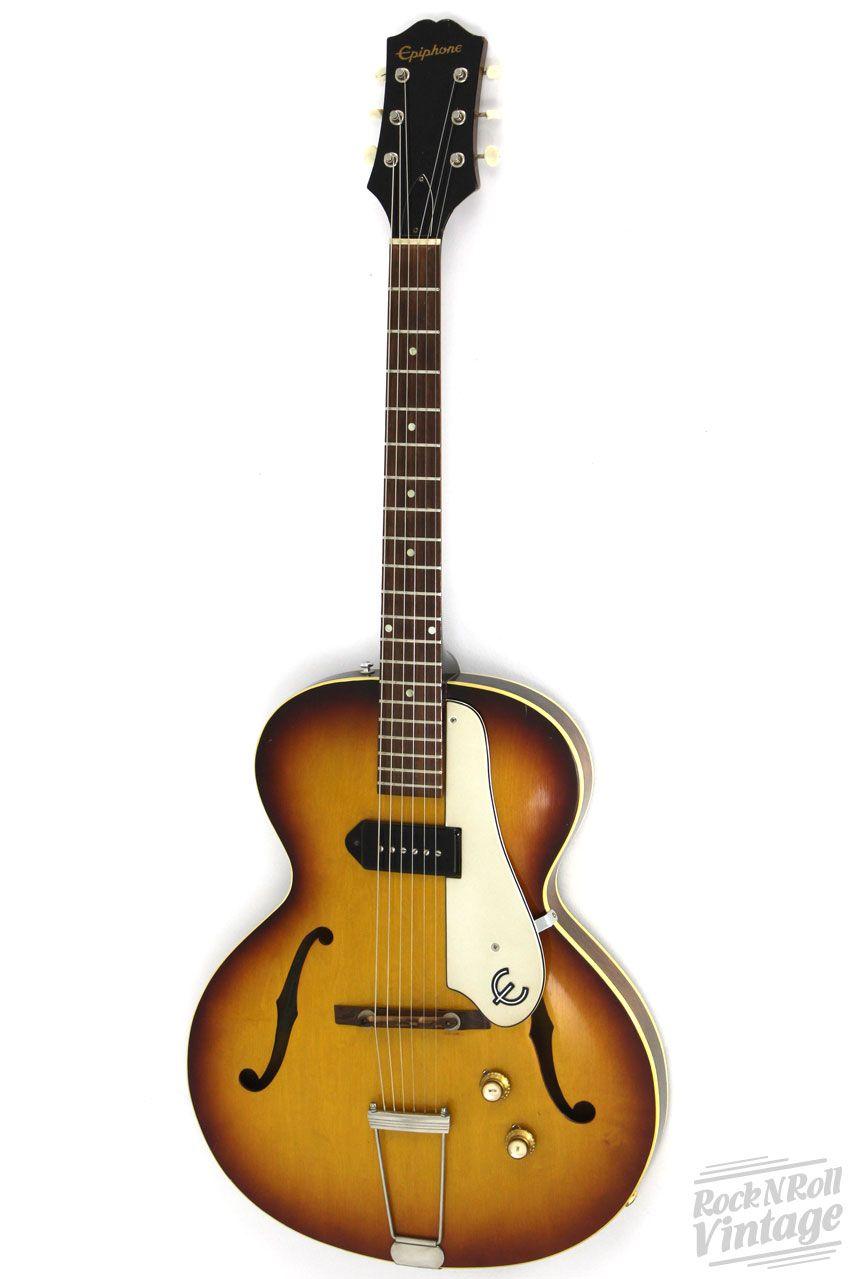 1961 Epiphone Century Hollowbody Vintage Guitars Epiphone Guitar