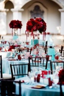 Light Blue An Red Wedding Theme In 2020 Teal Wedding