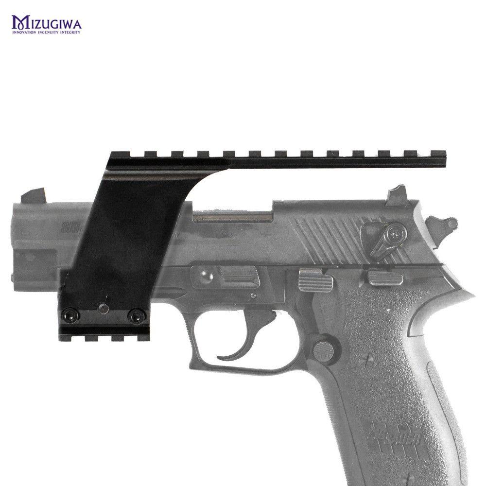 Mizugiwa Tactical Picatinny Top Bottom Pistol Gun Handgun