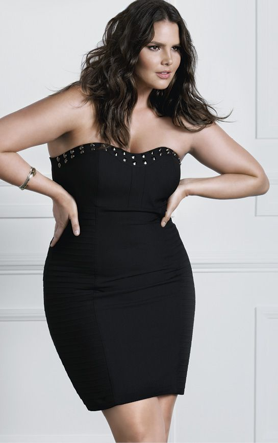 c3bed7277 Fall's New Edge ♥ The LBD with Attitude   FATshionistas - Plus Size ...