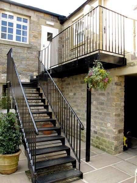 Ff1565 for Escaleras de metal para exteriores