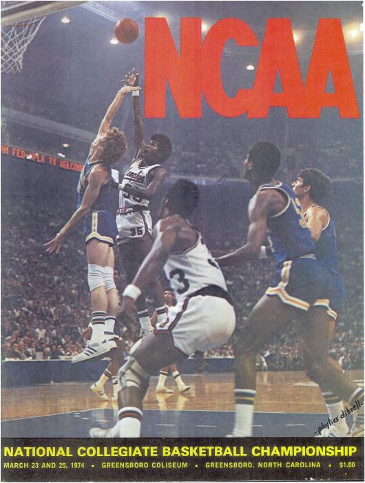 1974 NCAA Men's Final Four Basketball Championship Program