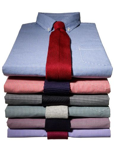 4 ways to wear a plaid blazer buttons mix n match and stack for Matching ties with shirts