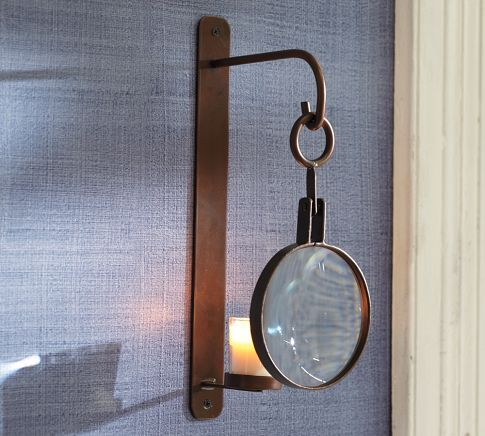 Magnifying Candle Sconce Wall Mounted Candle Holders Candle Wall Sconces Candle Sconces