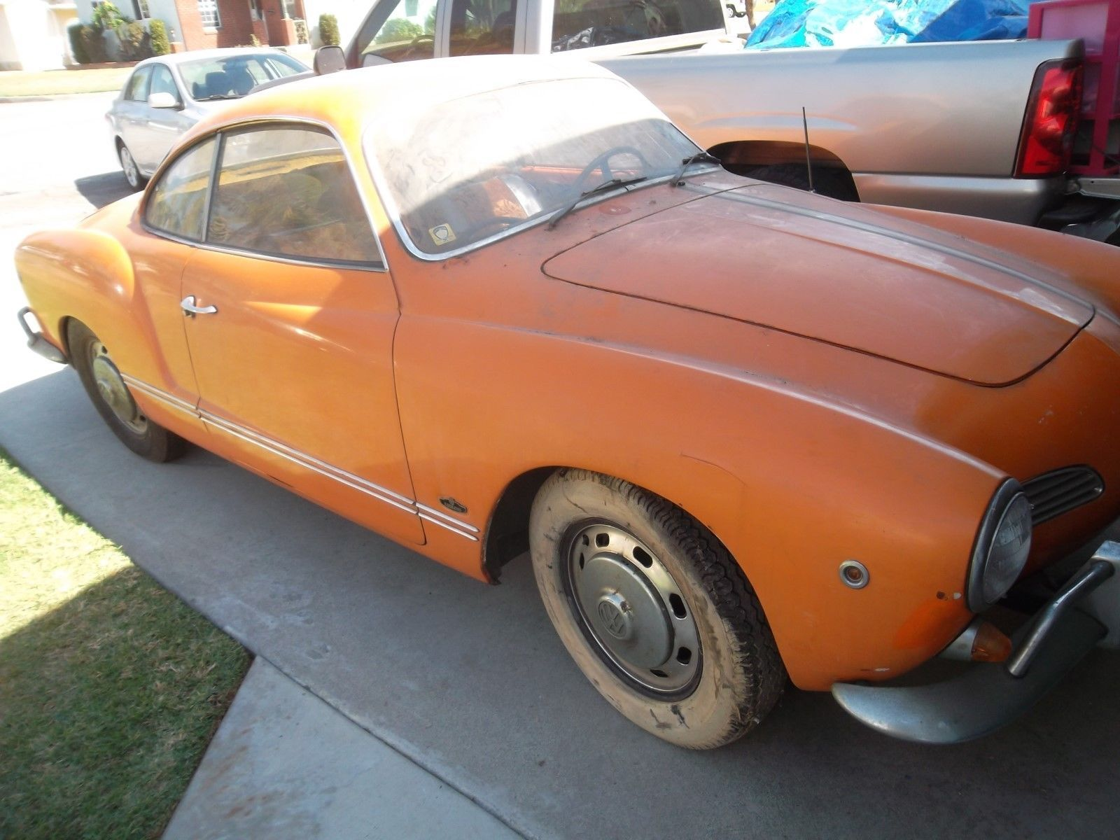 eBay: 1967 Volkswagen Karmann Ghia 1967 VW Karmann Ghia - One Owner ...