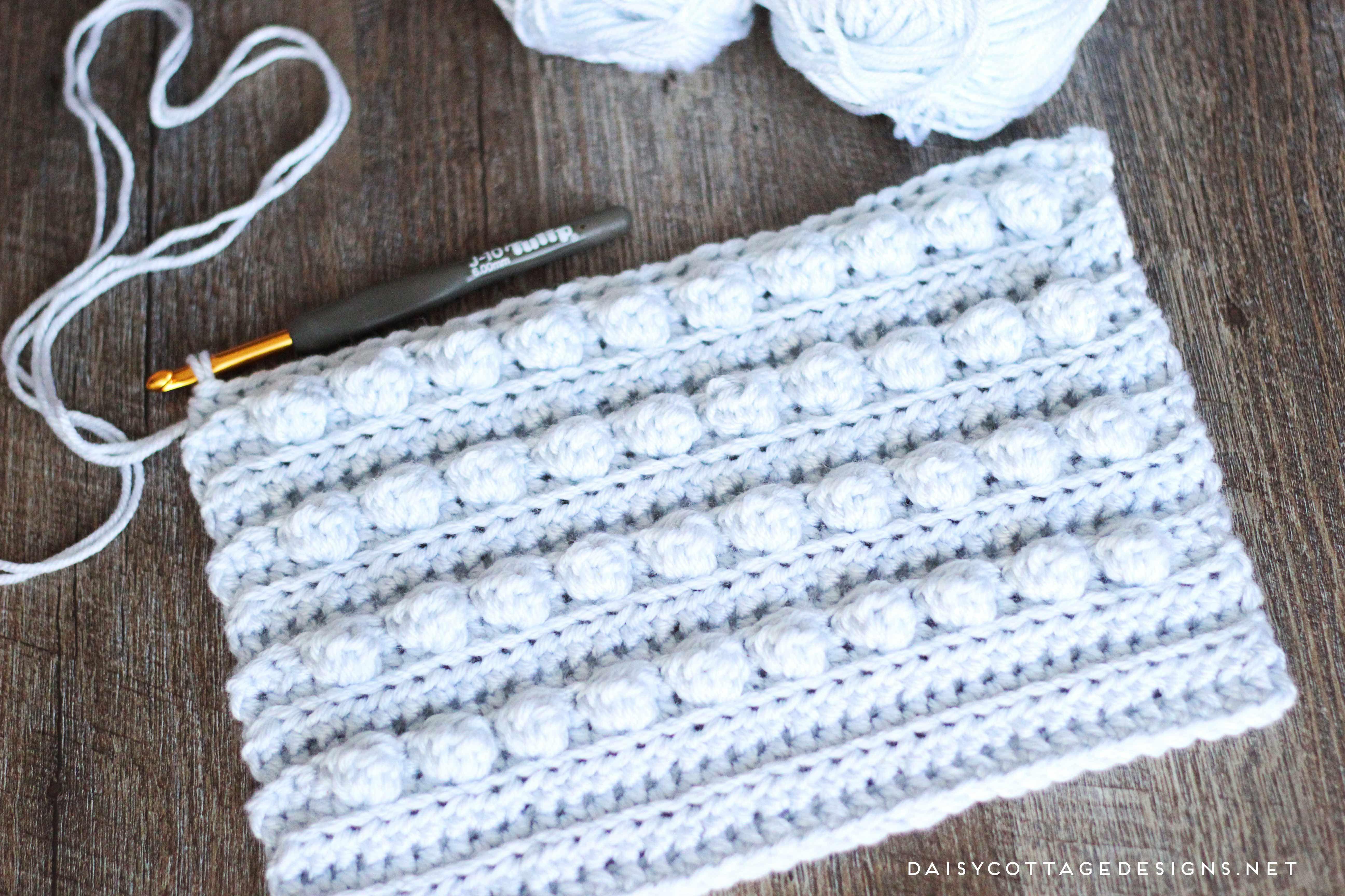 Bobble Texture Crochet